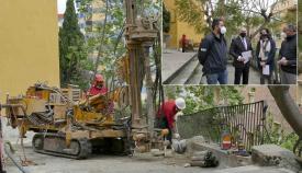 Continúan las obras en las calles Salvador Allende y Muñoz Seca