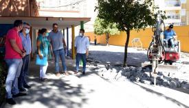 Arrancan las obras en el CEIP 'Campo de Gibraltar' de Algeciras