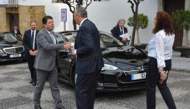 Picardo es recibido por Ruiz Boix el año pasado