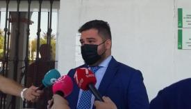 El delegado territorial de Regeneración, Justicia y Administración Local , Miguel Rodríguez