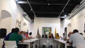 La Junta presenta a las cofradías de Algeciras las ayudas al arte sacro