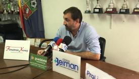 Javier Viso ha sido esta temporada entrenador del Algeciras CF