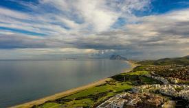 Vista del Estrecho y Gibraltar. Foto NG