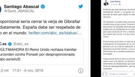 Romo ha contestado en su Facebook a Santiago Abascal