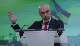 El eurodiputado de Vox, Jorge Buxadé. Foto: NG
