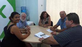 Reunión entre Vox Algeciras y Fapacsa