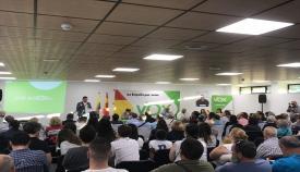 Presentación del candidato de Vox a la alcaldía de Algeciras, Antonio Gallardo