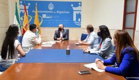 La reunión se celebró en el Ayuntamiento de Algeciras