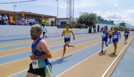 Imagen de la celebración de las pruebas en las pistas de atletismo del Enrique Talavera