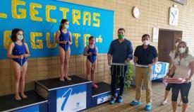 Momento de la entrega de premios de la competición.