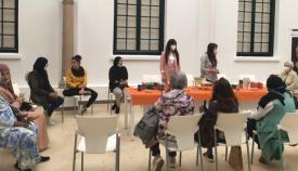 Imagen del acto celebrado en las instalaciones museísticas