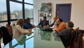 Juan Franco y GT, durante la reunión celebrada este jueves