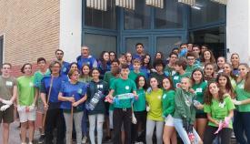 Alumnos, docentes y miembros de Verdemar