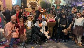 La Cabalgata del Humor llena las calles de Algeciras