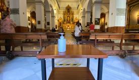 El Santuario de la Inmaculada de la Concepción, en La Línea
