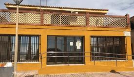 Fachada principal de la Casa del Mar, en La Línea