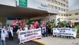 CSIF, contra el recorte de derechos al personal del SAS en Algeciras