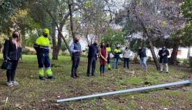 El parque Las Acacias ya disfruta de alumbrado público
