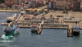 El Puerto de Algeciras supera los 100 millones de toneladas de mercancías