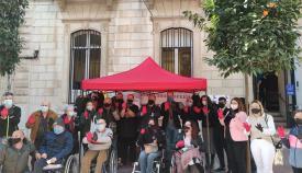 Algeciras apoya el Día Nacional de la Esclerosis Múltiple