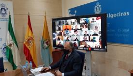 El pleno aprueba la adhesión de Algeciras a la Asociación Ramal Central