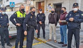 Ausencia de incidentes relevantes en la celebración del '24' en Algeciras
