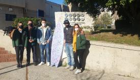 Arte y Surf se unen a favor de la asociación AGATA en Algeciras