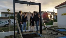 Emalgesa limpia la estación de bombeo de El Chinarral