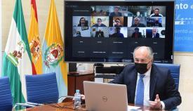 La Junta de Portavoces analiza la situación de la pandemia en Algeciras