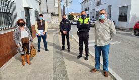 Participación Ciudadana y Policía se reúnen con la AVV 'El Embarcadero'