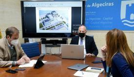 El proyecto del Lago Marítimo de Algeciras avanza a buen ritmo