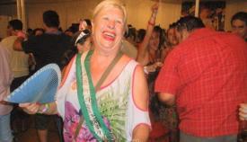 Pilar García Rodríguez, en la feria de La Línea. Foto: NG