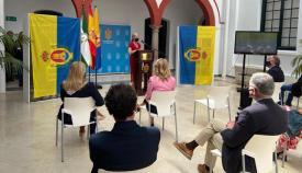 La consejera de Cultura, Patricia del Pozo, en Algeciras