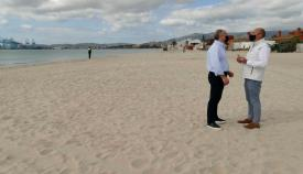 Las playas de Algeciras, a punto para el inicio de la temporada