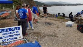 La concejal de Medio Ambiente, hoy en La Ballenera. Foto: algeciras.es
