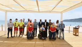 Las playas de Algeciras cuentan con módulos para personas discapacitadas