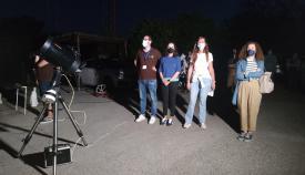 La empresa Green Globe organiza una velada de observación astronómica