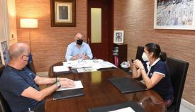 El alcalde de Algeciras se reúne con el sindicato ACAIP-UGT