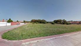 Parcela donde se construirá el IES de Palmones. Foto: Junta de Andalucía