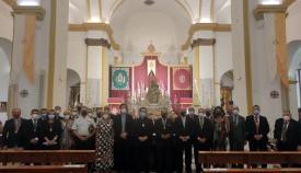 El acto se ha celebrado en la iglesia de Nuestra Señora de la Palma