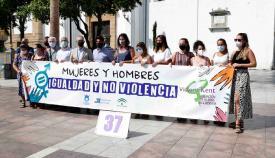 La Plaza Alta vuelve a albergar las concentraciones en rechazo a la violencia de género