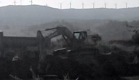 Los ecologistas denuncian la situación del río. Foto: Verdemar
