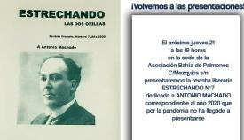 El colectivo 'Estrechando' rinde el jueves un homenaje a Antonio Machado