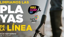 Cartel de la iniciativa que tendrá lugar en La Línea. Foto: NG