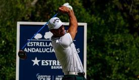 Buen arranque de Álvaro Quirós con +1 en el Andalucía Masters de golf