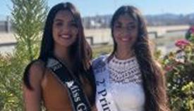 Miss Gibraltar en uno de los actos celebrados