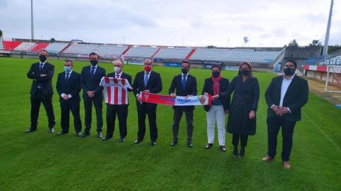 CaixaBank renueva su patrocinio con el Algeciras CF para esta temporada