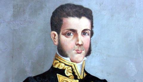 Retrato del general Lacy por Augusto Vázquez Cano (Ayuntamiento de San Roque)