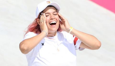 La algecireña Andrea Benítez, apeada de la final olímpica de skate