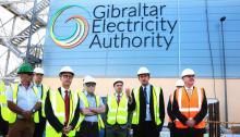 Las autoridades visitaron las nuevas instalaciones de la planta
